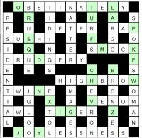 A to Z Crossword player